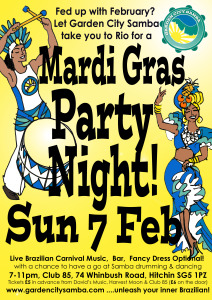 GCS Mardi Gras Party
